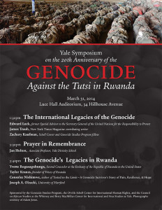 20th Commemoration of the 1994 Genocide Against the Tutsi in Rwanda